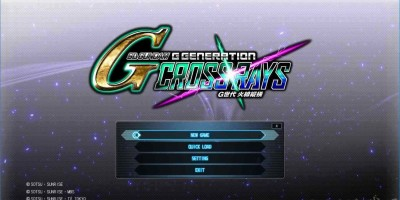 【简中】SD 高达 G 世代: 火线纵横(SD Gundam G Generation Cross Rays)